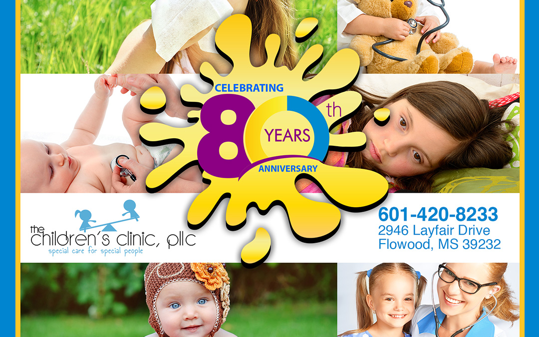 CELEBRATING 80 YEARS OF PEDIATRIC CARE!