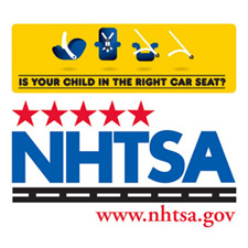 Carseat Info from NHTSA